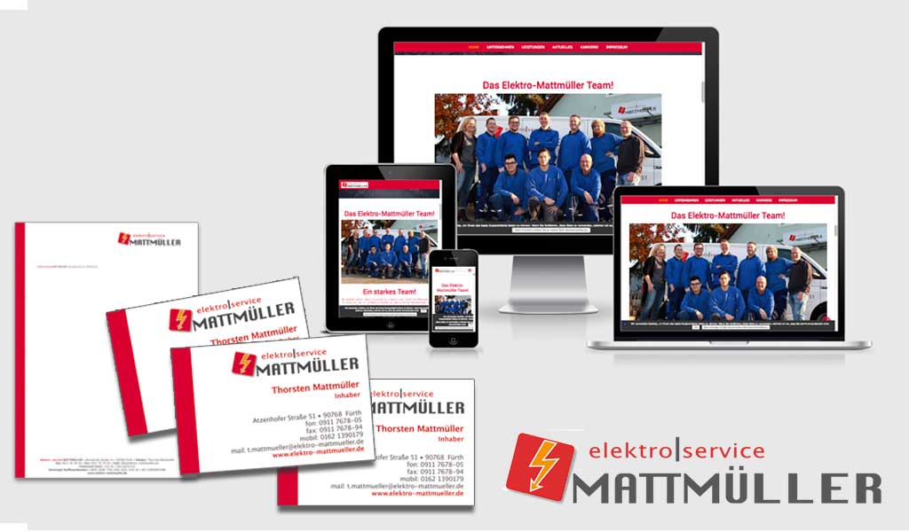 Neues Corporate Design für Elektro Mattmüller