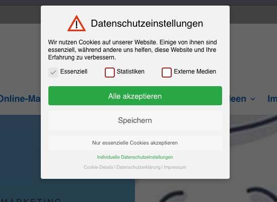 DSGVO: Aktuelles BGH-Urteil zu Cookie-Bannern Was das aktuelle BGH-Urteil für Webseitenbetreiber bedeutet.