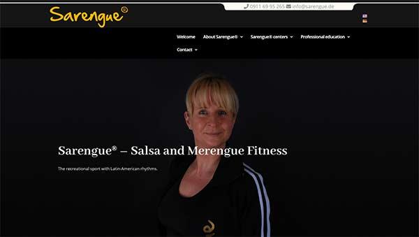 Relaunch: Sarengue®-Auftritt jetzt auch in englischer Sprache