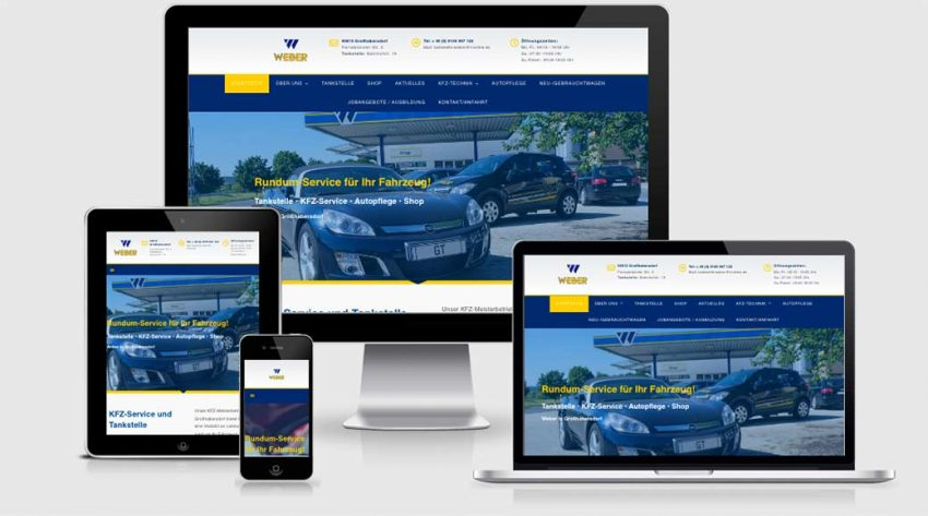 Großhabersdorf: Neuer Webauftritt der Firma Weber geht online!